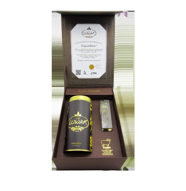 Premium Luwak Coffee Peaberry Domba Coffee